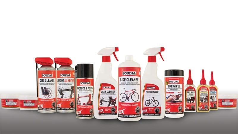Geef uw Zannata fiets de zorg die hij verdient met de nieuwe Soudal producten