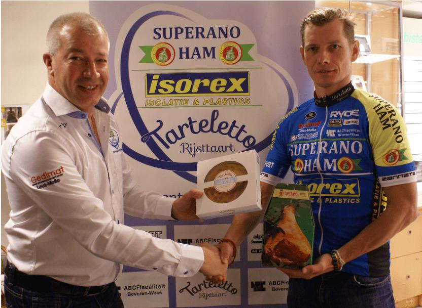 Gorik Gardeyn sluit carrière af bij Superano Ham-Isorex – Tarteletto